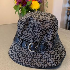 Like new coach rain hat